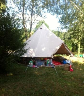 Camping Maisonneuve, St Jory de Chalais