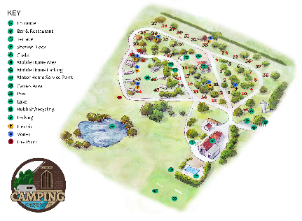 Map of Camping Maisonneuve